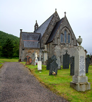 Church near Glencoe