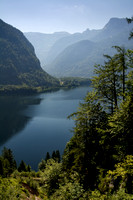 Lake Hallstatt from Steeg - vertical