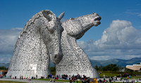 The kelpies are huge !