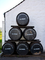 Barrels at Dalwhinnie
