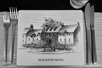 Meal time at  Plocton Hotel