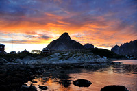 Sunset on Reine, Lofoten Islands  #1