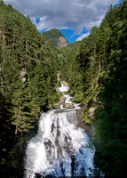 Waterfall in South Tyrol