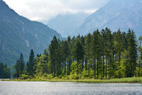 Lake Almsee, Forest and mounatins