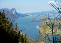 Mondsee from Eisenau