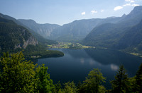Lake Hallstatt from Steeg - landscape
