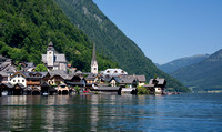 Hallstatt from the lake