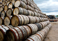 1000's of Whisky Barrels