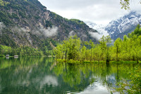 Lake Almsee in May