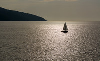 Sailing boat in Silhouette