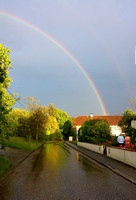 double rainbow in Kirchstetten